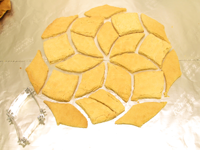 cookies and cookie cutter